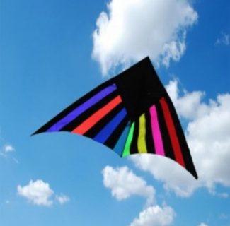 Delta Kite Rainbow