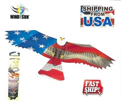 Eagle USA Flag Kite