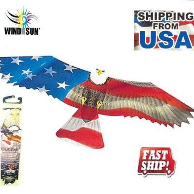 Eagle USA Flag Kite