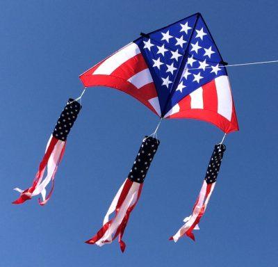USA Levitation Delta Kite