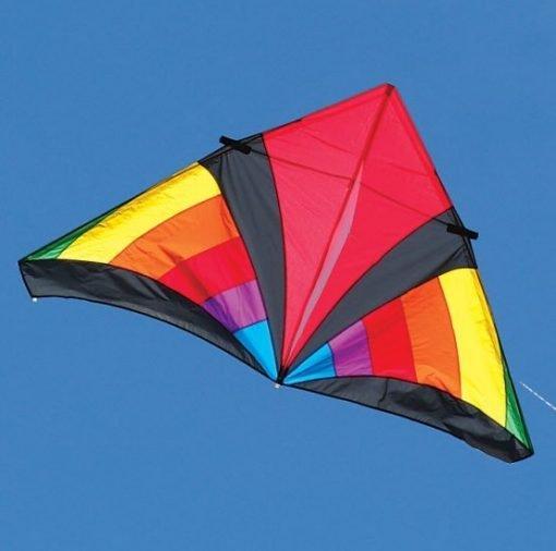 Levitation Rainbow Delta Kite 7-ft.