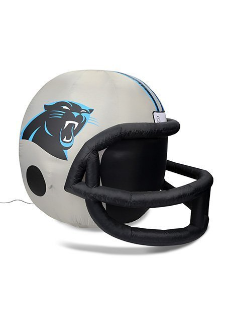 Carolina Panthers inflatable helmet