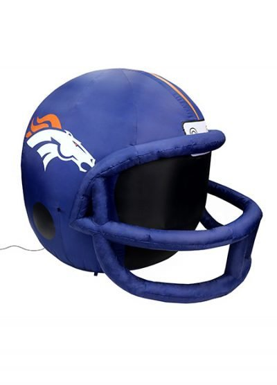Denver Broncos inflatable helmet