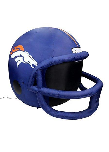 Denver Broncos inflatable helmet